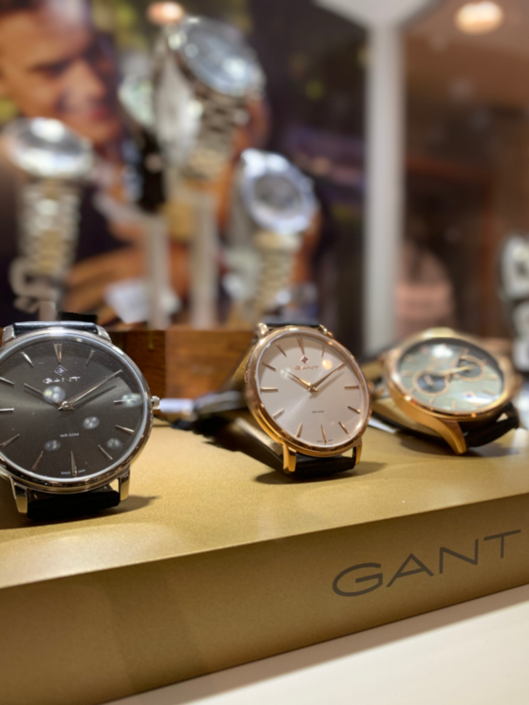 Klockor Gant