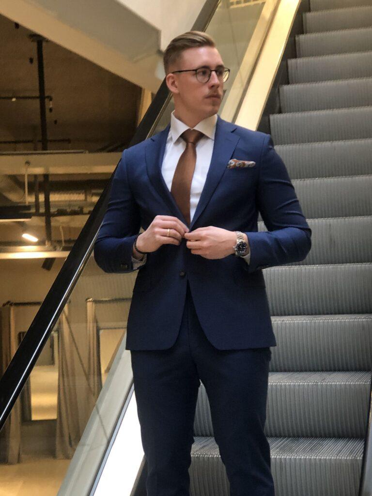 Kostym i Sundsvall